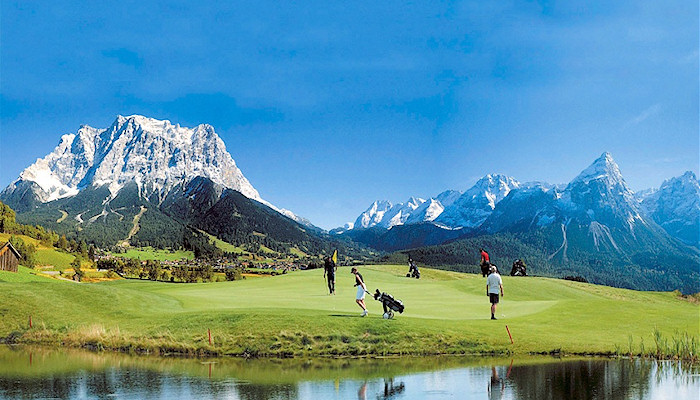 Tirol, Summer - Anyone for golf?